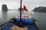 The Long, Halong Bay, headed for Hon Gai