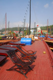 Rooftop deck of the Binh Minh