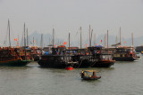 The very busy Bai Chay tourist port, Halong City