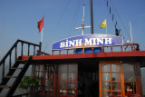 The Binh Minh, the replacement for the Lagoon Explorer
