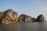 Floating village, Halong Bay