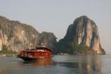 Bai Tho 62 tourist boat, Halong Bay