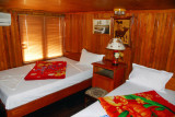 Cabin of the Binh Minh - nice enough, except for the generator directly beneath the bed