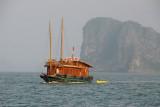 Huong Hai Junk, Halong Bay