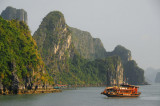 Three-masted Bai Tho tourist boat, Halong Bay
