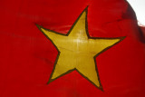 Vietnamese flag on our boat