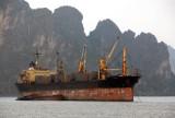 Fu Zhou bulk cargo carrier, Halong Bay