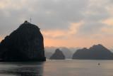 Soi Sim Island at sunset, Halong Bay