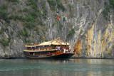 Bai Tho 88, Halong Bay tourist boat