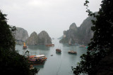 View of Halong Bay from the exit of Hang Sung Sot Cave