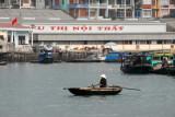 Row boat, Hon Gai harbor