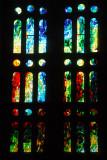 Stained glass, Sagrada Família, Barcelona