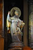 Statue on the main altar Església de Sant Augusti, Carrer de l'Hospital