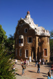 Güell Park was designed by Antoni Gaudí