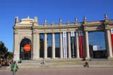 Collonade fronting the Fira de Barcelona, Plaça d'Espanya