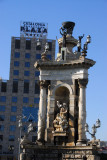 Fountain by Josep Maria Jujol, Plaça d'Espanya