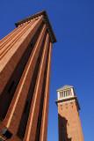 Venetian Towers, Plaça d'Espanya