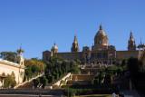 National Art Museum of Catalonia on Montjuïc Hill