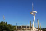 Montjuïc  Telefonica Communications Tower, by Santiago Calatrava for the 1992 Barcelona Olympics