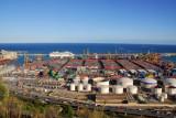 Port of Barcelona from Montjuïc