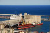 Grain elevators and bulk cargo wharf, Port of Barcelona