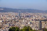 View of Barcelona from Montjuïc