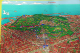 Map of Montjuïc, Barcelona