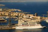 MS Thomson Destiny (1982)  docked in Barcelona