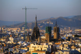 Barcelona Cathedral from Montjuïc