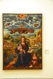 Mother of God, the Baby Jesus and St. John; Joan de Burgunya16th C