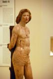 Wooden sculpture of St. Sebastian, National Art Museum of Catalonia