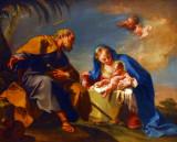 Rest on the Flight into Egypt; Giovanni Battista 1725-26 Pittoni