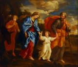 The Return from Egypt; Giovanni Frencesco Romanelli ca 1635-40