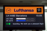 To Barcelona with Lufthansa