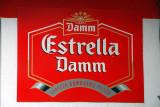 Domestic beer Estrella Damm, Cadaqués