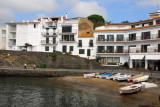 Small beach on the east side of the harbor, Cadaqués