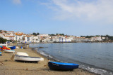 Beach in the center of Cadaqués