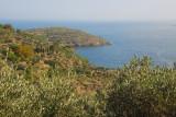 Costa Brava on the drive from Cadaqués to Cap de Creus