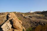 The road to Cap de Creus lighthouse