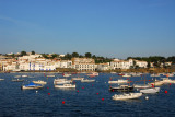 Boats in the harbor at Cadaqués