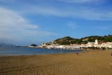 Beach on the bay of El Port de la Selva