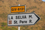 Turn for La Selva de Mar and the Monastery St. Pere Rodes