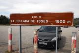 Port de La Collada de Toses, 1800m, Pyrenees
