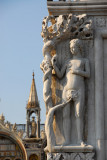 Statue of Eve on the Doge's Palace, Venice