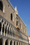 Doge's Palace, pink & white marble southern façade
