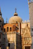 The Doge's Palace adjoining St. Mark's Basilica