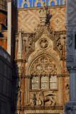 Porta della Carta connects the Doge's Palace to St. Mark's Basilica