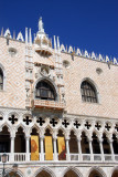 Balcony and loggia of the south façade of the Doge's Palace