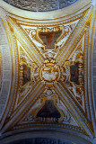 Ceiling of the Scala d'Oro leading to the upper floor of the Doge's Palace