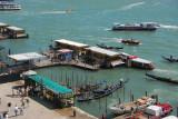 S. Zaccarla pier of the Venice public ferry system